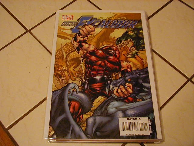 NEW EXCALIBUR #12 (2006) NM