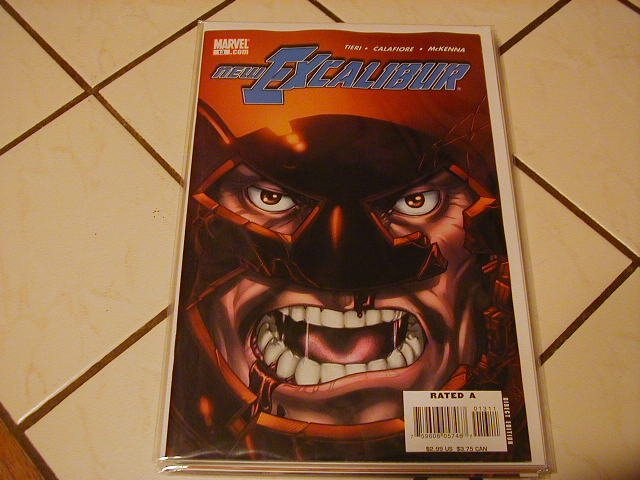 NEW EXCALIBUR #13 (2006) NM