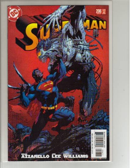 SUPERMAN #206 NM