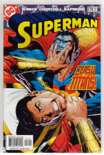 SUPERMAN #216 NM  CAPTAIN MARVEL