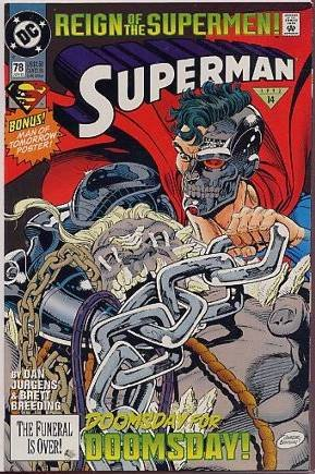 SUPERMAN #78 NM   DOOMSDAY