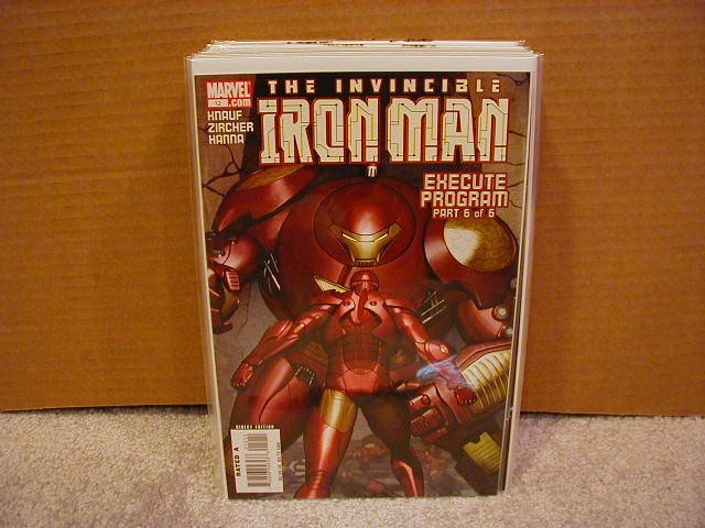 IRON MAN #12(2006)NM