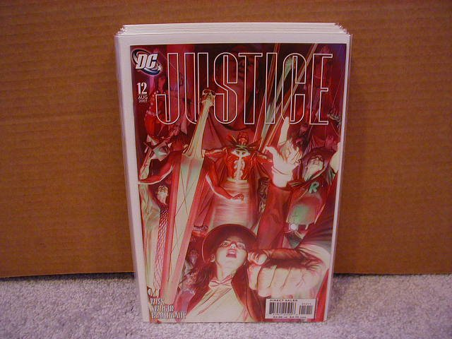 JUSTICE #12 HEROES COVER NM