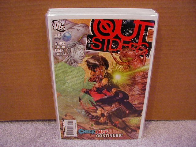 OUTSIDERS #48 NM (2007)