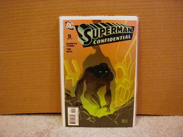 SUPERMAN CONFIDENTIAL #5 NM (2007)