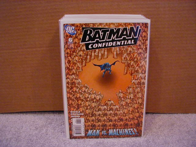BATMAN CONFIDENTIAL #6 NM