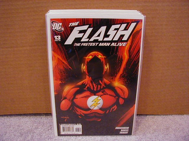 FLASH THE FASTEST MAN ALIVE #13  LAST ISSUE- DEATH ISSUE!!!