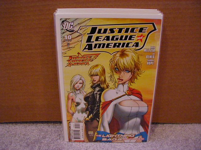 JUSTICE LEAGUE OF AMERICA #10 NM (2007)
