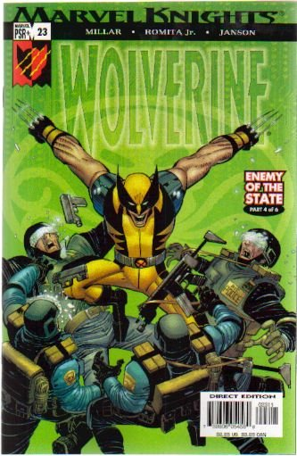 WOLVERINE VOL 2 #23 NM