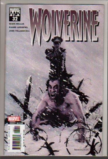 WOLVERINE VOL 2 #32 NM