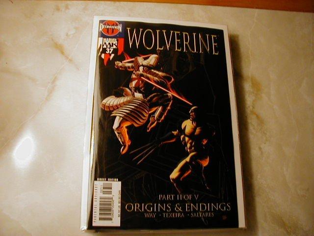 WOLVERINE VOL 2 #37 NM ORIGINS & ENDINGS