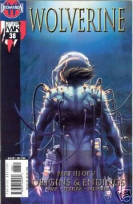 WOLVERINE VOL 2 #38 NM ORIGINS & ENDINGS