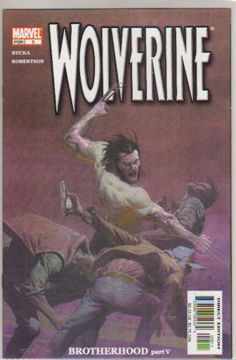 WOLVERINE VOL 2 #5 NM