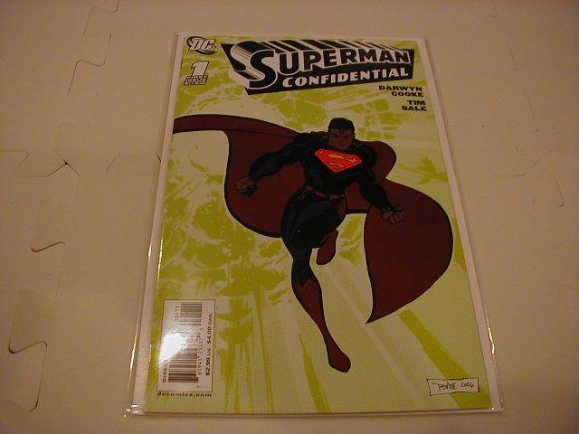 SUPERMAN CONFIDENTIAL #1 NM
