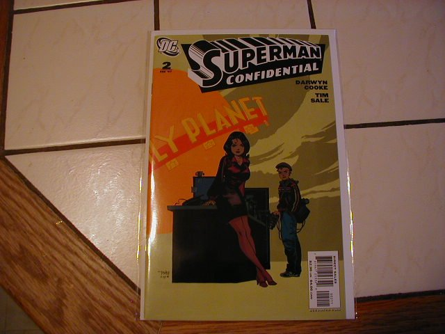 SUPERMAN CONFIDENTIAL #2 NM