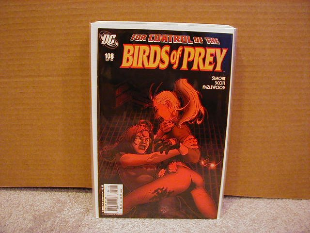 BIRDS OF PREY #108 NM