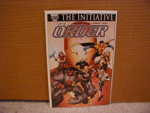 THE ORDER #1 VARIANT COVER  NM (2007)NEW MARVEL SERIES