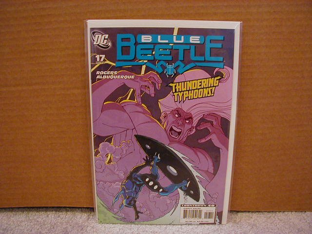 BLUE BEETLE #17 NM