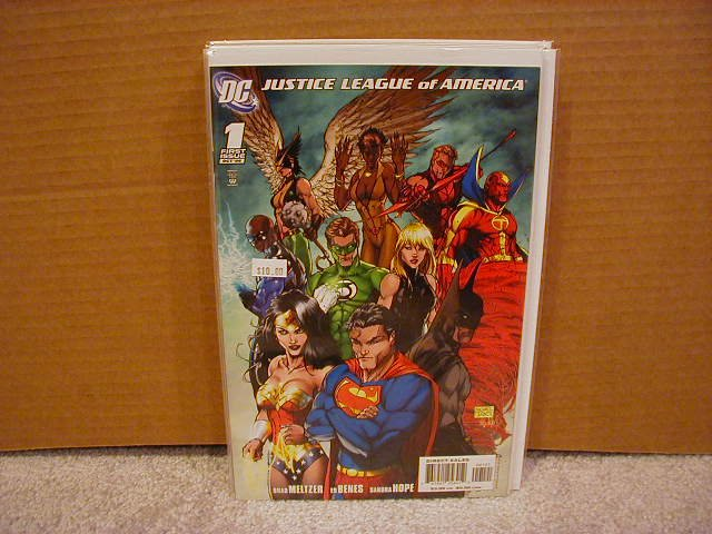 JUSTICE LEAGUE OF AMERICA #1 VARIANT NM