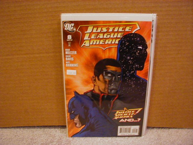 JUSTICE LEAGUE OF AMERICA #8 VARIANT NM