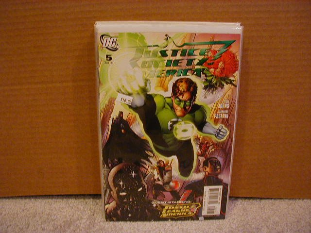 JUSTICE SOCIETY OF AMERICA #5 VARIANT NM