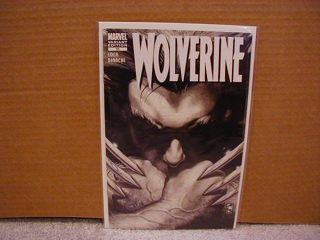 WOLVERINE VOL 2 #55 1ST PRINT B&W VARIANT NM