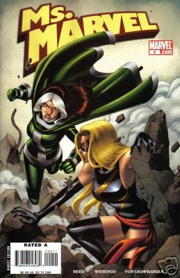 MS. MARVEL #9 NM (2006)  ROGUE X-OVER