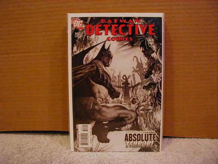 DETECTIVE COMICS #835 NM  BATMAN
