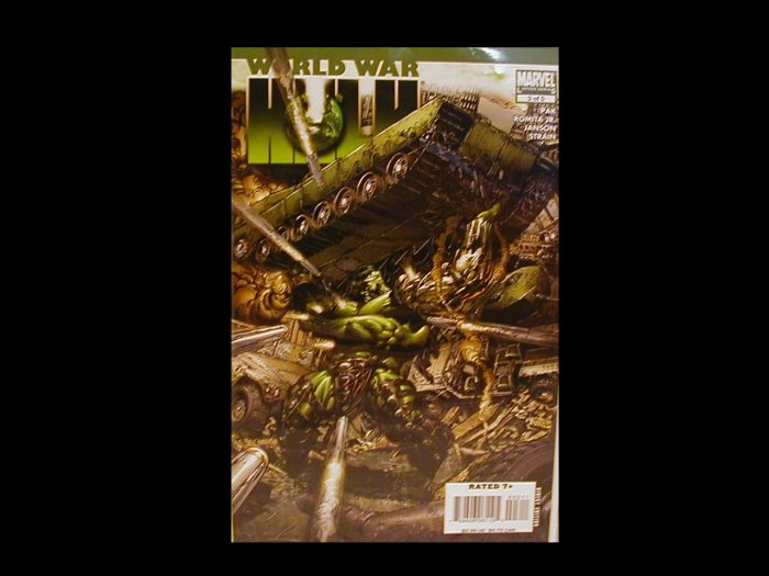 WORLD WAR HULK #3 NM
