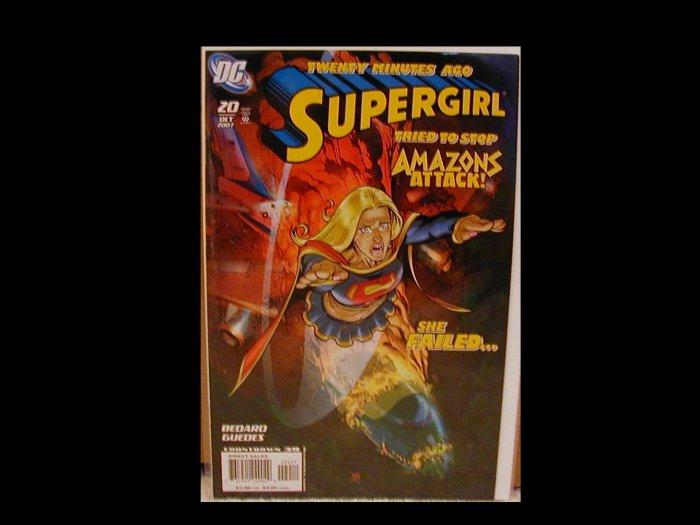 SUPERGIRL #20 NM (2007)