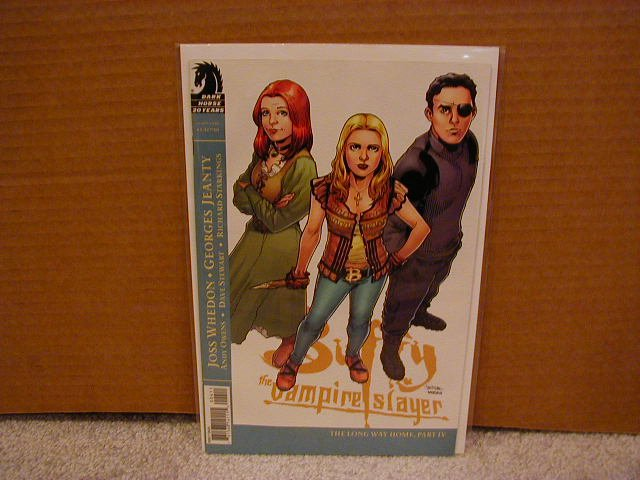 BUFFY THE VAMPIRE SLAYER #4 NM SEASON EIGHT  DARK HORSE (2007) 1ST PRINT!! VARIANT COVER