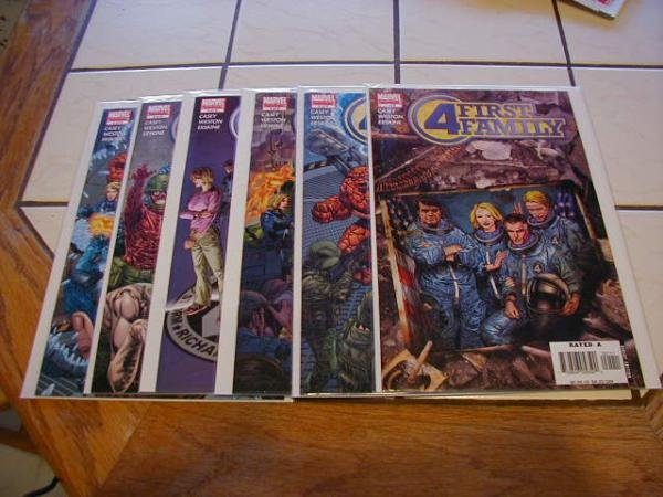 FANTASTIC FOUR FIRST FAMILY SET #1-6 COMPLETE NM