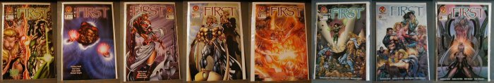 FIRST #6-8,11,13-19,21,22,&28 ALL F/VF OR BETTER ** FREE SHIPPING!! AND MORE!!!