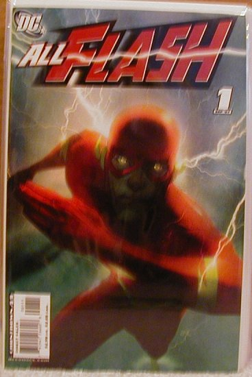 ALL FLASH #1 NM(2007)COVER B