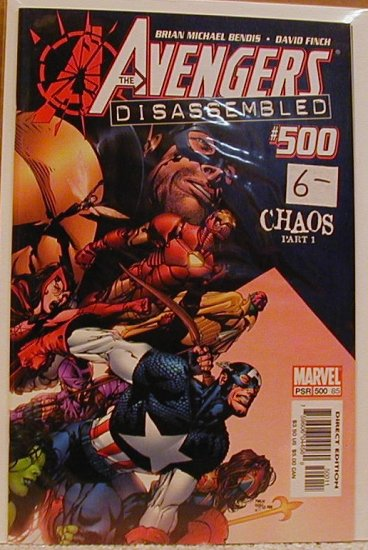 AVENGERS #500 DISASSEMBLED