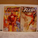 FLASH #231 BOTH 1ST PRINT COVERS NM