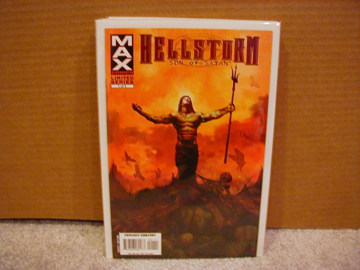 HELLSTORM SON OF SATAN #1 LIMITED SERIES NM  (2006)