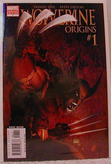 WOLVERINE ORIGINS #1 VARIANT COVER 1ST PRINT NM