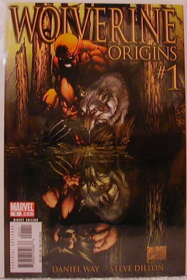 "WOLVERINE ORIGINS #1 1ST PRINT NM ""A"" COVER"