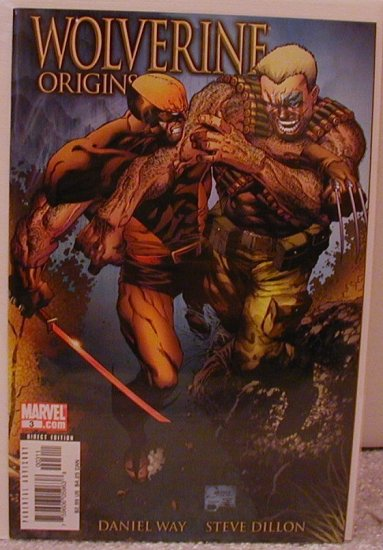 WOLVERINE ORIGINS #3 A COVER 1ST PRINT NM