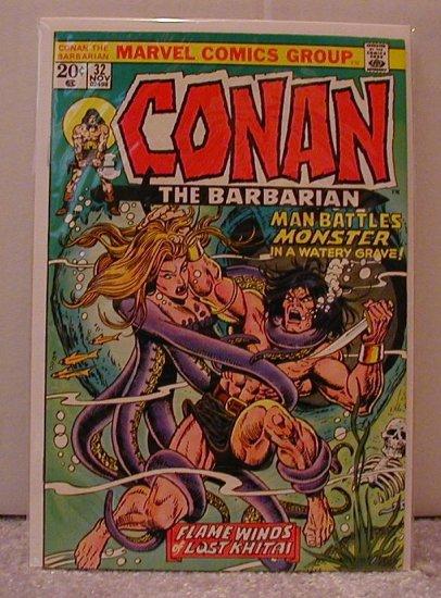 CONAN THE BARBARIAN #32  F/VF