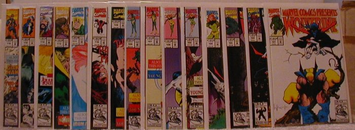 MARVEL COMICS PRESENTS 15 BOOK LOT #101-116 * FREE SHIPPING ON THIS LOT AND ANYTHING ADDED TO IT*