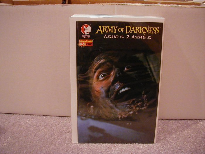 ARMY OF DARKNESS ASHES 2 ASHES #3 PHOTO COVER