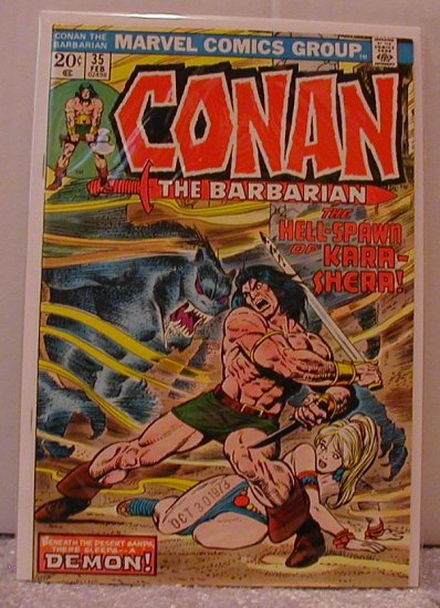 CONAN THE BARBARIAN #35 F/VF