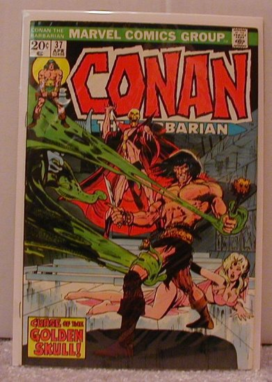 CONAN THE BARBARIAN #37 F/VF