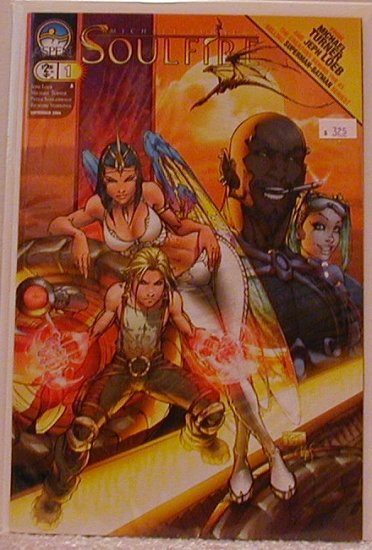 SOULFIRE  #1 A COVER