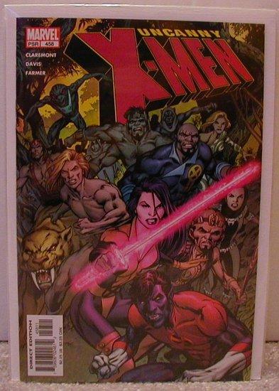 UNCANNY X-MEN #458 NM