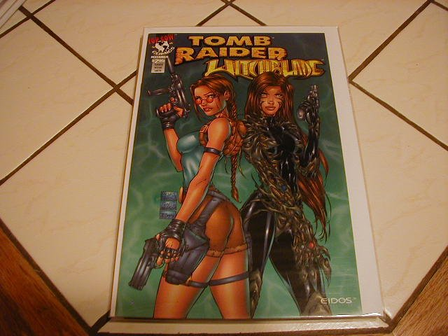 TOMB RAIDER WITCHBLADE REVISITED NM