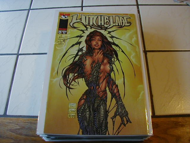 WITCHBLADE #25 VF
