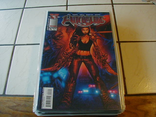 WITCHBLADE #75 VF/NM